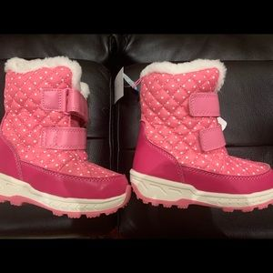 Carters size9 girls winter boots